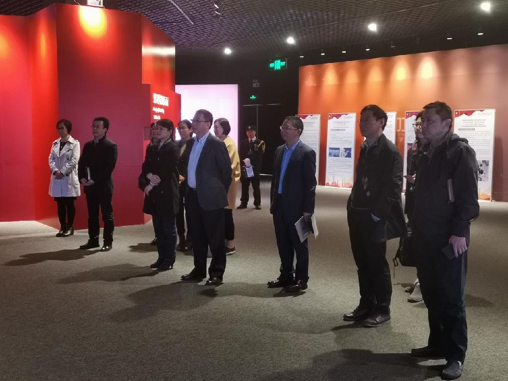 中心领导班子带队赴上海推进科创中心建设办...